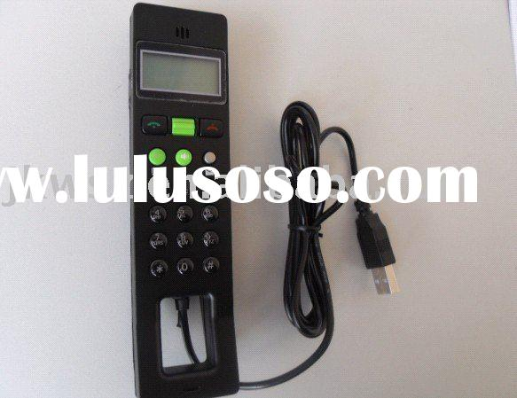 usb internet phone With LCD and support SIM card