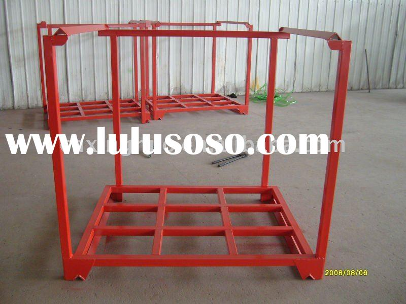 warehouse pallet container,steel stacking rack