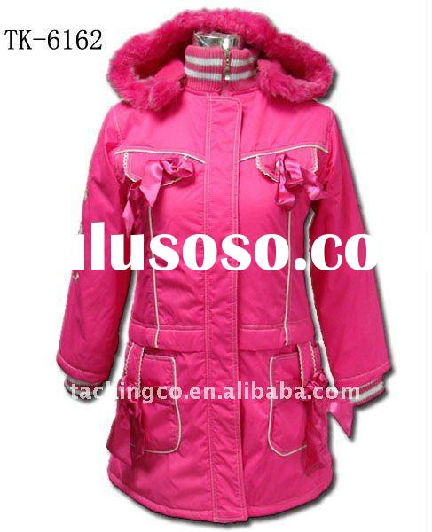winter coat for girl fashion jacket new hot 2012