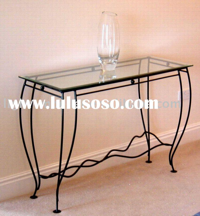 Stunning Rod Wrought Iron Console Table 850 x 921 · 99 kB · jpeg