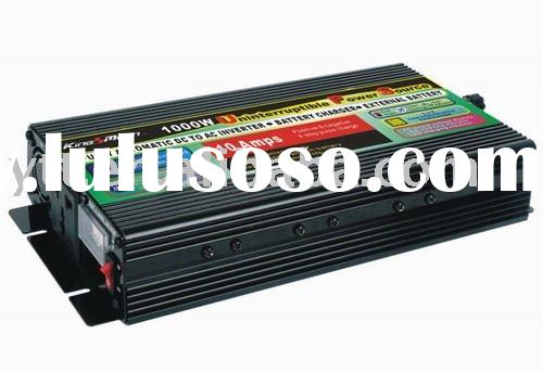 100% Brand New 1000W Car Power Inverter with Charger & UPS