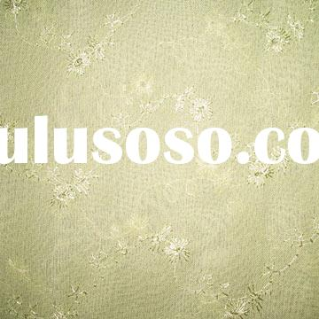 100% Polyester Georgette Embroidering