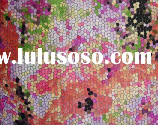 100 printed silk satin