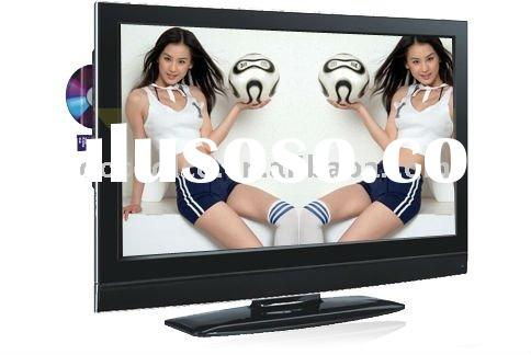 "1080P 42"" inch lcd tv with DVD inbuilding"