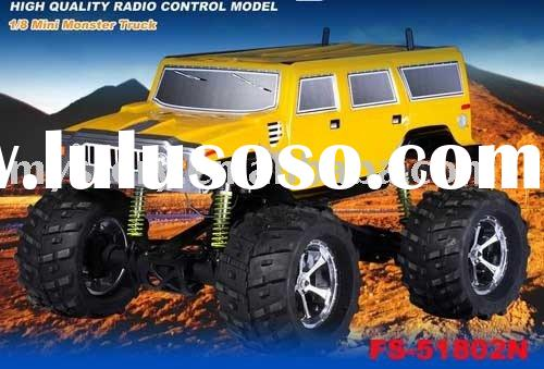 1/8 Mini Monster Truck,SCALE NITRO CAR,rc cars