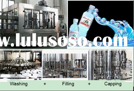 2000BPH Pure Water Processing Machine/Filling Plant