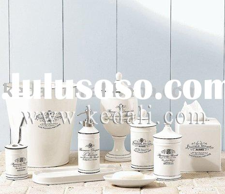 2010 ceramic bathroom accessories series