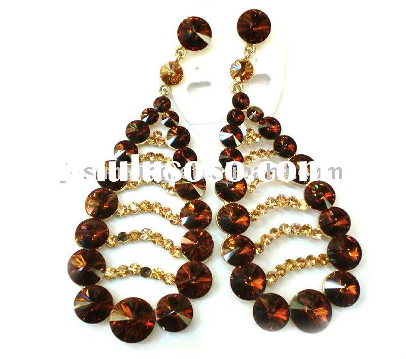 Wholesale Big Fashion Earrings Fashion chandelier