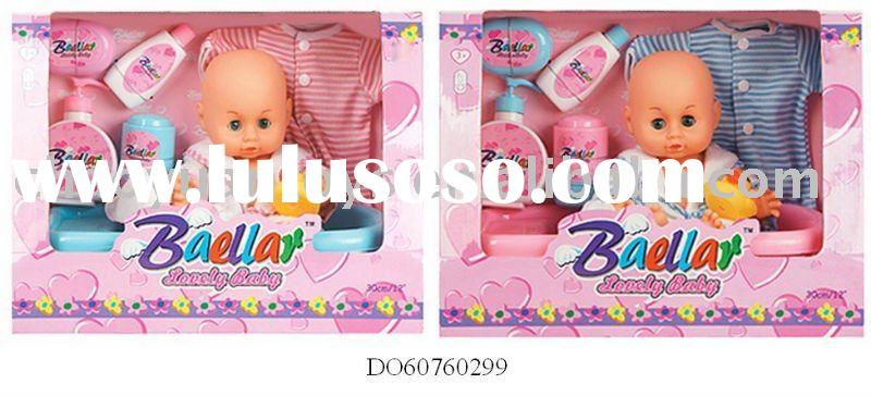 "2011 latest 12"" real baby dolls / bath set DO60760299"