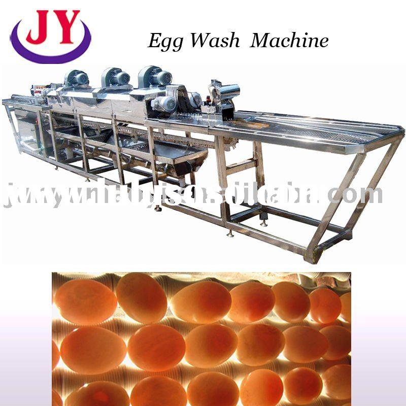 2012 new automatic egg washing machine for all eggs ,with function of Cleaning - dry - Coding - Inje
