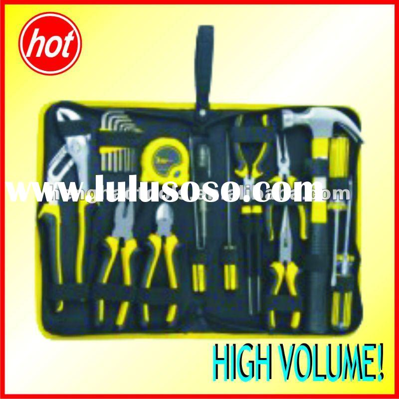 24pcs home owner's tool set,canvas bag tool kit car hand tools free shipping