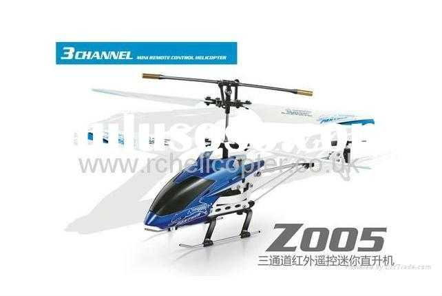 3 Channel Mini Remote Control Helicopter Z005