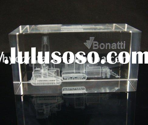 3d laser Crystal Craft
