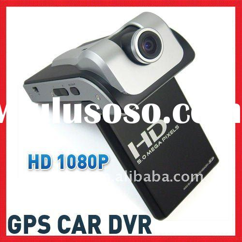 5.0 Mega 1080P Full HD car blackbox camera dvr gps