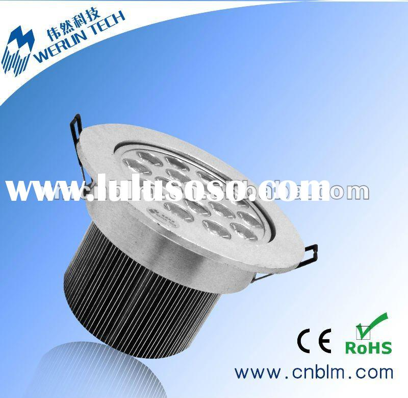 7W High Power LED ceiling lamp