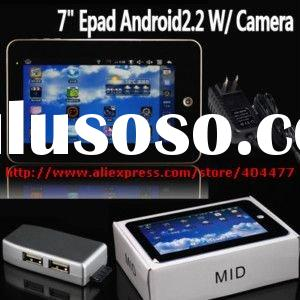 "7"" ANDROID 2.2 VIA 8650 Tablet PC 3G WIFI Flash10.1 WEBCAM"