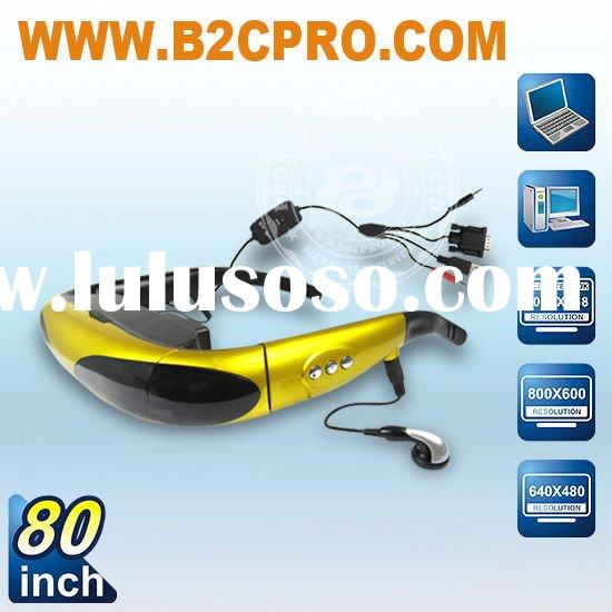 80inch PC 3D Eyewear Video Glasses----Best PC Gaming Accessories