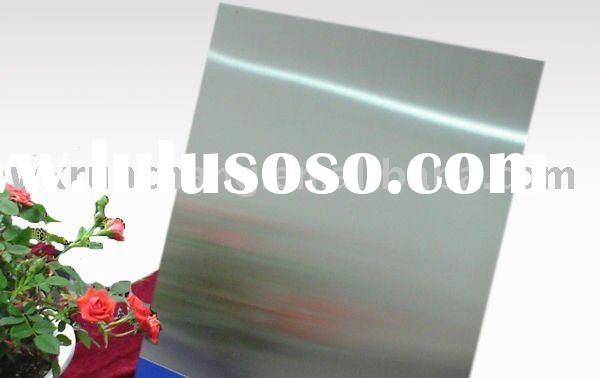 8k mirror finish stainless steel sheet