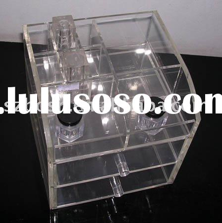 Acrylic Cosmetic Display,Plexiglass Bottle Stand,Lucite Cosmetic Organizer
