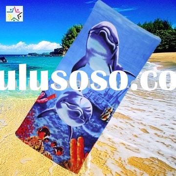 Advertising beach towel