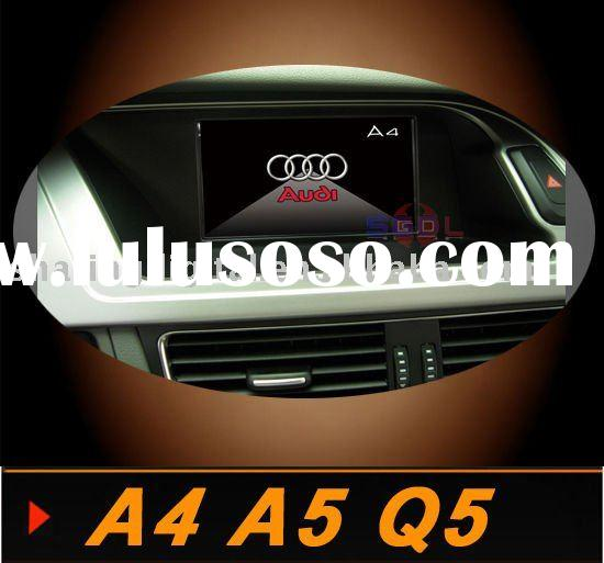 Audi A4 A5 Q5 Car DVD Player with GPS Can bus BT IPOD