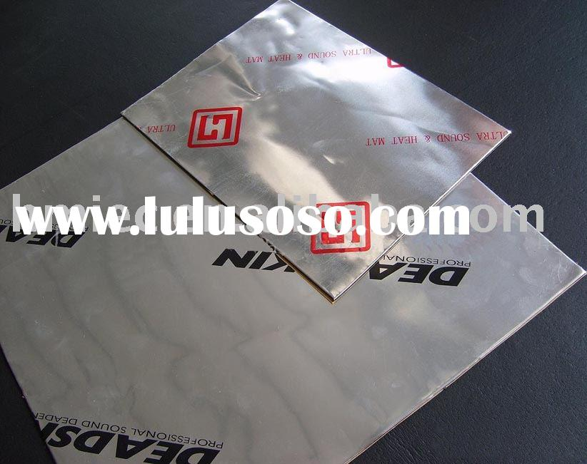 Auto sound damping and vibration damping sheet