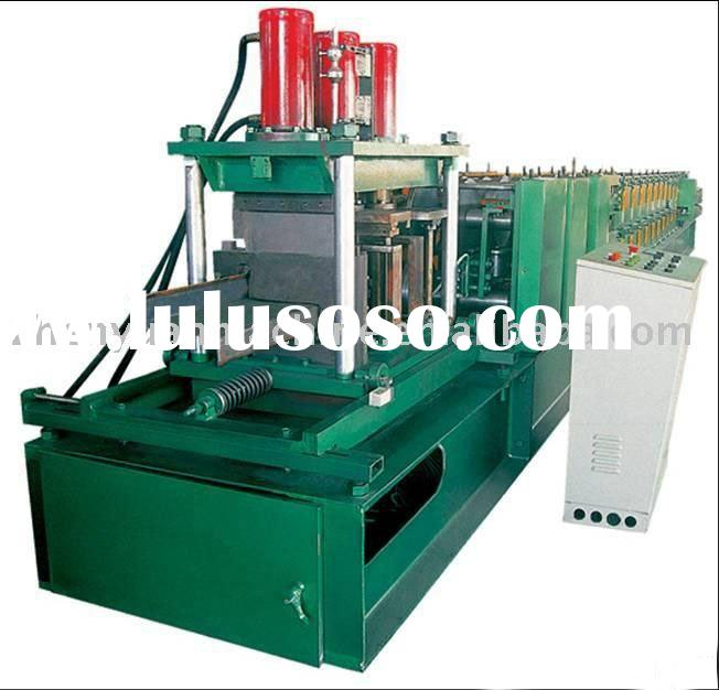 C&Z purlin forming equipment,z purlin roll forming machine,steel purlin making machine