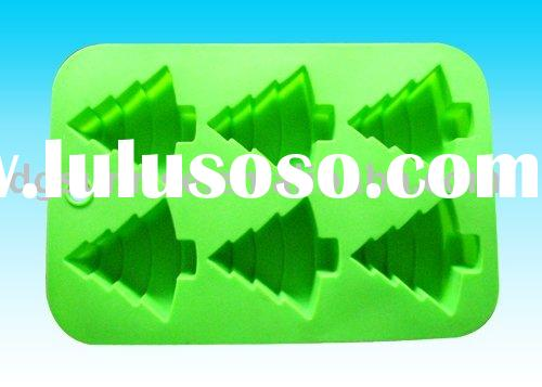 Cartoon Shaped Silicone Cake Mould for Christmas