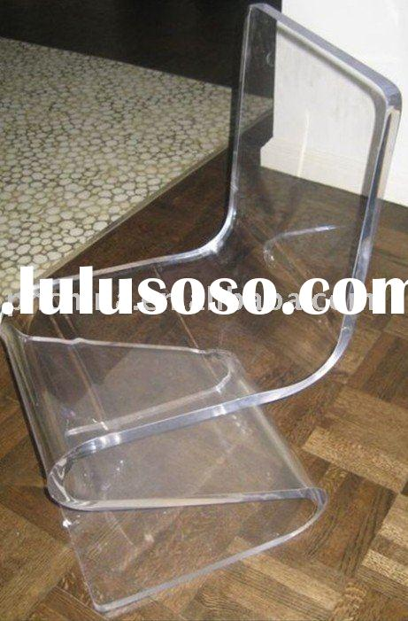 Clear Acrylic Lucite Plexiglass Chair;Acrylic Furniture;Acrylic Plexiglass Furniture;Acrylic Furnitu