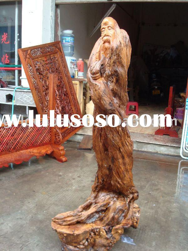 Figure Wood Carving Craft