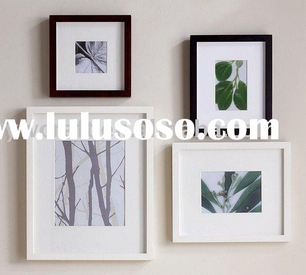 Flat wooden wall picture frames(new design)