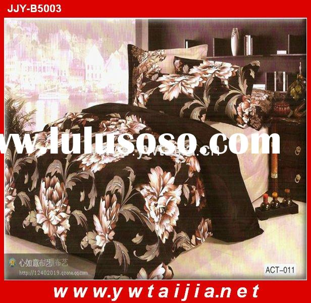 Hot Selling! 100%polyester New Bed Sheet Design