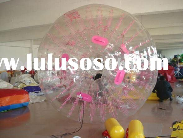 Inflatable zorb ball for kids or adults