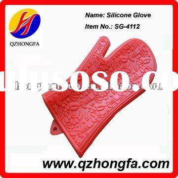 Kitchen silicon glove for oven cooking use