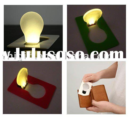 LED light bulb card