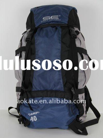 Large capacity camping and hiking backpacks