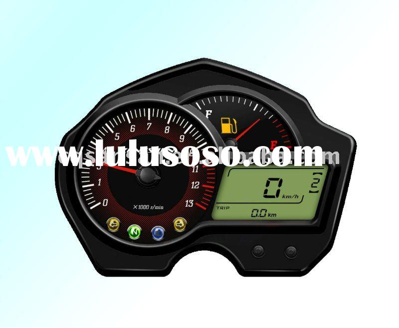 New arrival morden motorcycle LCD display speedometer