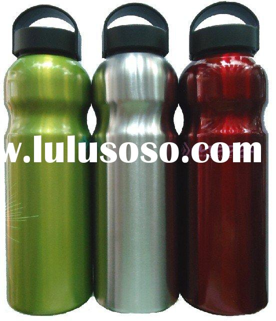 New design aluminum sports bottles with BPA free