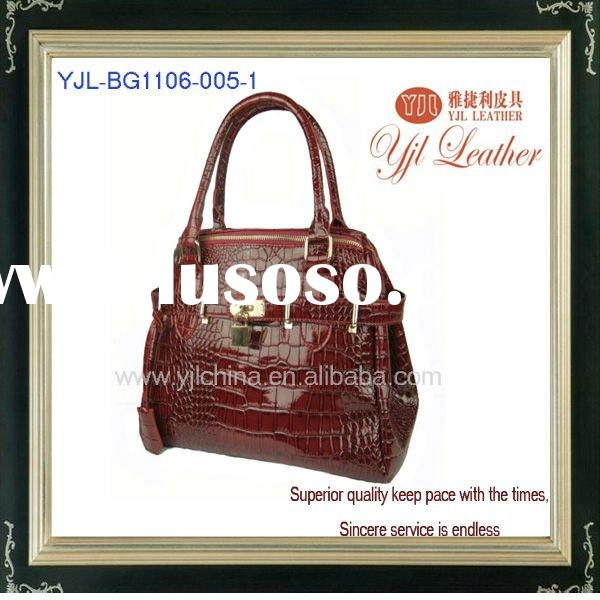 New style fashion pu handbag