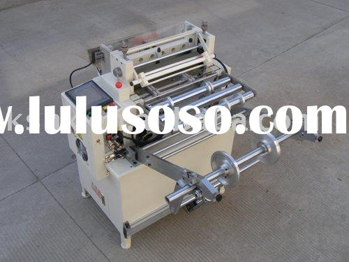 Non Woven Fabric Roll Cutting Machine With Rack