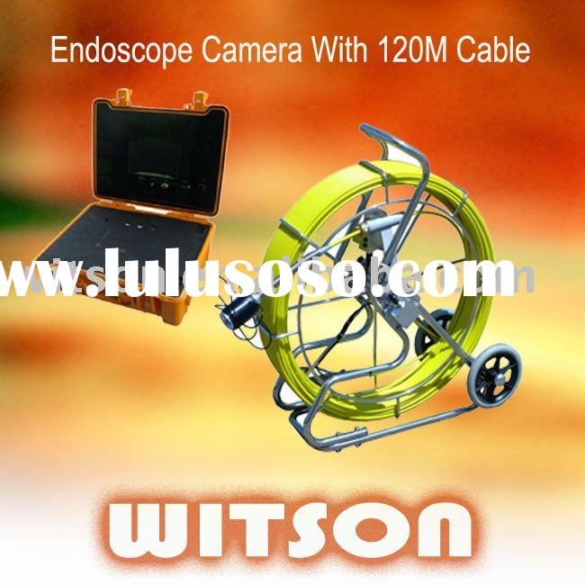 Pipe inspection camera with 120M Cable W3-CMP3288