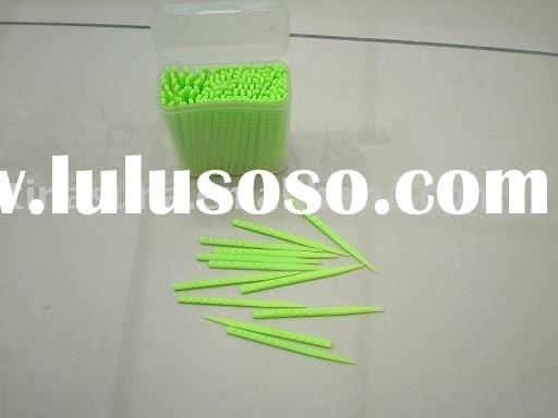 Plastic toothpick/dental floss/flosser/tooth whiting