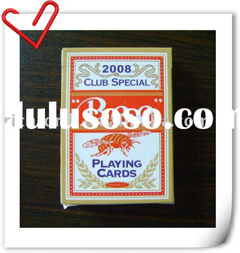 "Play cards( PVC Playing Cards, Antique playing cards, Poker), Bicycle ""The Black Deck"" Mag"
