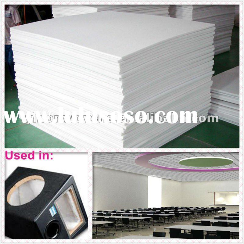 Polyester fiber sound-absorbing board