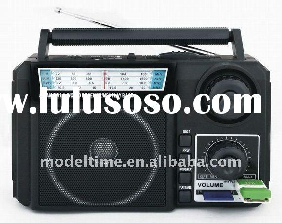 Radio with USB SD Slot Function