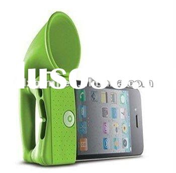 Silicone rubber loud speaker/horn For Mobile phone