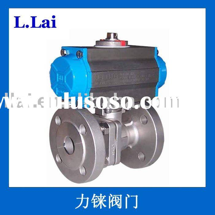 Stainless steel pneumatic float valve