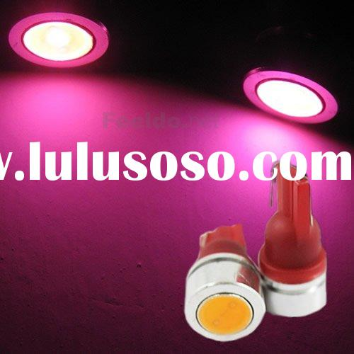T10 1W 194 168 SMD high power LED light Bulbs Pink(FD-LED-T10-1W-P)