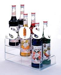 acrylic wine bottle holder(rack,stand,display,countertop,shelf)