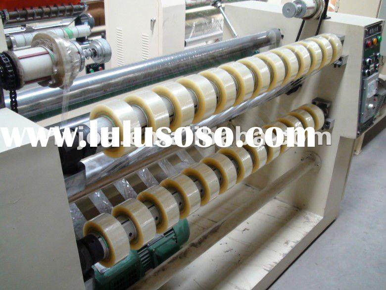 aluminum foil tape slitting rewinding machine